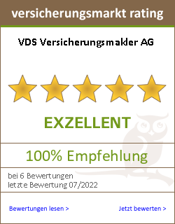 versicherungsmarkt rating Siegel